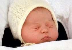 """""""Hivatalosan"""" is megszületett Charlotte hercegnő"""