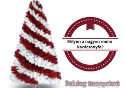 Milyen a nagyon menő karácsonyfa?